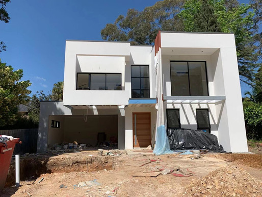 A Albuera residence construction are progressing well and ahead of time!