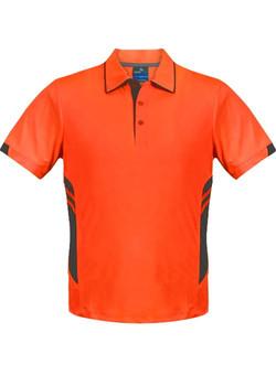 AP 1311 Mens Tasman Polo Orange-Slate