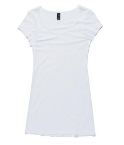 Jaime Tee Dress 4014 White