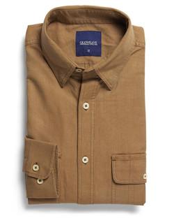 Mens 5271L LS Oxford Shirt Sand