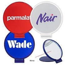 Help your customers or employees look their best with our selection of Promotional Pocket Mirrors