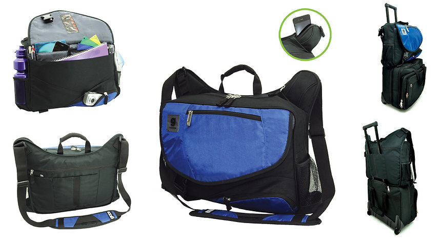 Cobalt Conference Bag