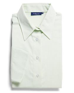 Ladies 1251WL LS Square Dobby Shirt Mint