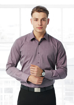 S622ML Mens Trend Long Sleeve Shirt