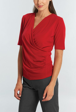 Ladies 1726WS Cool Breeze Shirt Red A