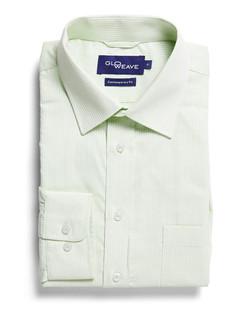 Mens 1251L LS Square Dobby Shirt Mint