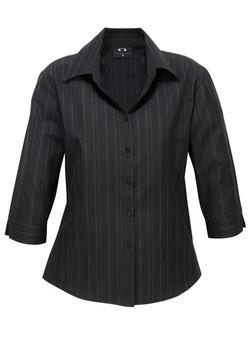 LB2725 3-4 Sleeve Black White