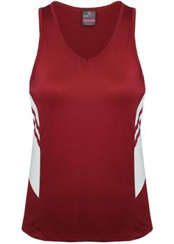 AP 2111 Ladies Tasman Singlet Red-White.jpg