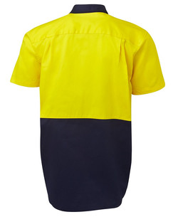 6HWS Hi Vis SS 190G Shirt Back