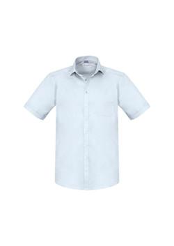 Biz S770MS Mens Biz Monaco SS Shirts White