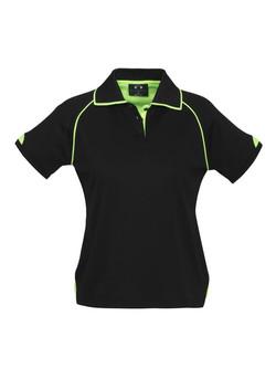 P29022 Ladies Black-Fluoro Lime