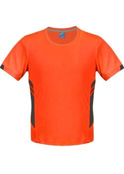 AP 1211 Mens Tasman Tshirt Orange-Slate