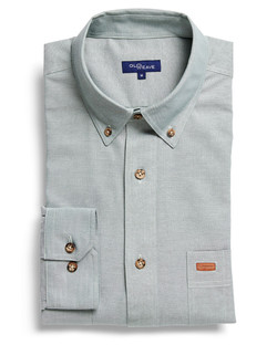 Mens 5045LN Iconic Chambray Industrial Shirt Green