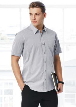 S622MS Mens Trend Short Sleeve Shirt