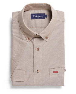 Mens 5095S SS Iconic Chambray Industrial Shirt Sand