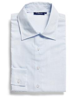 Ladies 1295WL Textured Yarn Shirt White