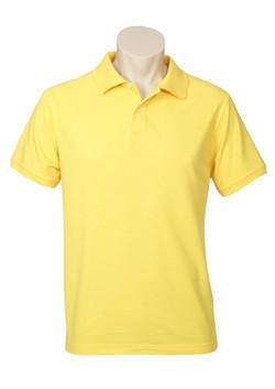 p2100 Mens Neon Polo Yellow