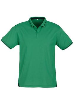 p226ms Mens Jet Polo Emerald Green-Navy