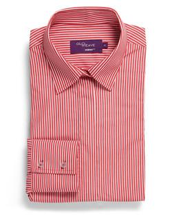 Ladies 1376WL Bold Stripe Shirt Red