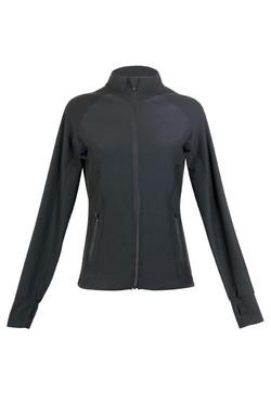 J480LD Ladies AVA NylonSpandex Jacket Black.jpg