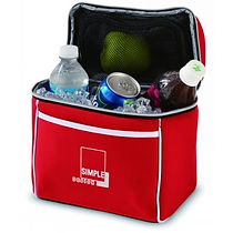 A selection of promotional Cooler Bags