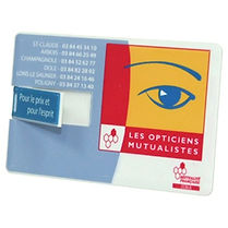 Check out our selection of promotional Credit Card USB's. Decorate with Logo, Brand or point of contact.