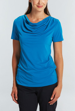 Ladies 1727WS Cool Breeze Shirt Teal A