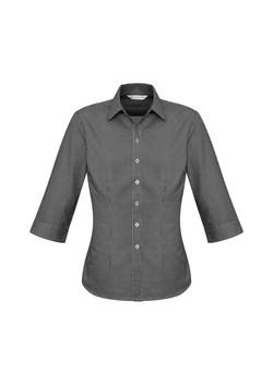 Biz S716LT Ladies Ellison Shirts Black