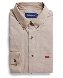 Mens 5095L LS Iconic Chambray Industrial Shirt Sand