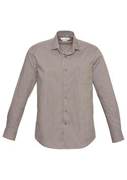 Zurich Shirt Mocha-White