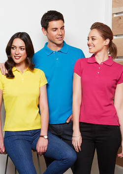 p2100_p2125 Mens and Ladies Neon Polos