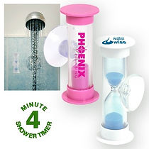 Help your customers or employees save water with our selection of Shower Timers