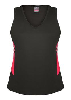 AP 2111 Ladies Tasman Singlet Slate-Fluro Pink.jpg