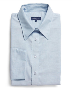 Ladies 1025WL Oxford Shirt Blue