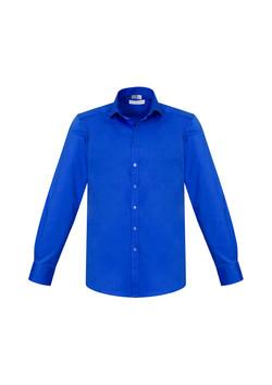 Biz S770ML Mens Monaco LS Shirts ElectricBlue