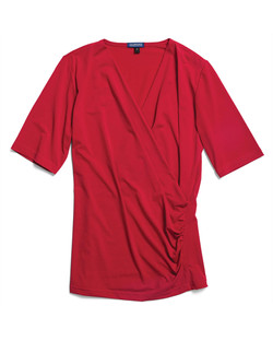 Ladies 1726WS Cool Breeze Shirt Red