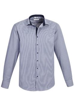 S267ML Men's Long Sleeve Blue