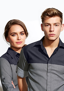 The Havana Range is a modern take on the standard Business Shirt utilising different fabrics to create a modern sophisticated looking business shirt.