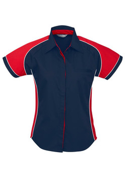 S10122 Navy Red