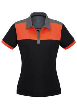 P500LS Black-Fluoro Orange-Grey