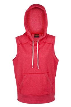 FP66UN Ladies_Junior Greatness Sleeveless Hoodie Red Heather.jpg
