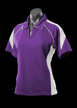 2301 Purple-White