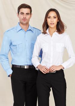S10710 S117LL Epaulette Shirt Range