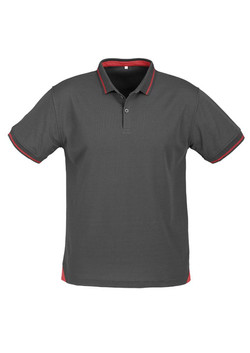 p226ms Mens Jet Polo Emerald Steel Grey-Red