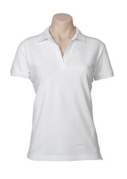 p9025 Ladies Oceana Polo White