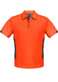 AP 3311 Kids Tasman Polo Orange-Slate