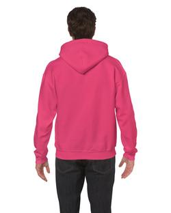 18500 Hooded Sweatshirt Back