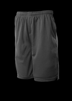 3601 Kids Sports Shorts Black