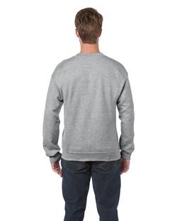 18000 Adult Crewneck Sweatshirt Back
