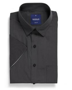 Mens 1253HS SS End on End Hospitality Shirt Slate